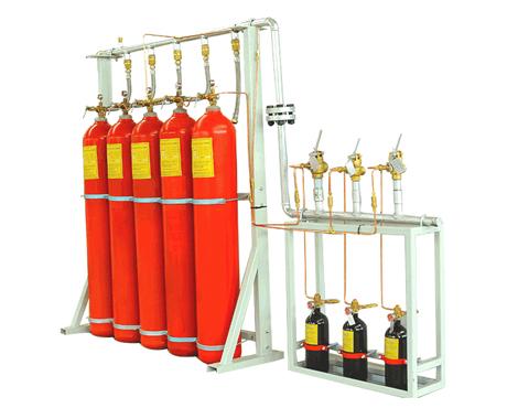七氟丙烷气体灭火系统的安装